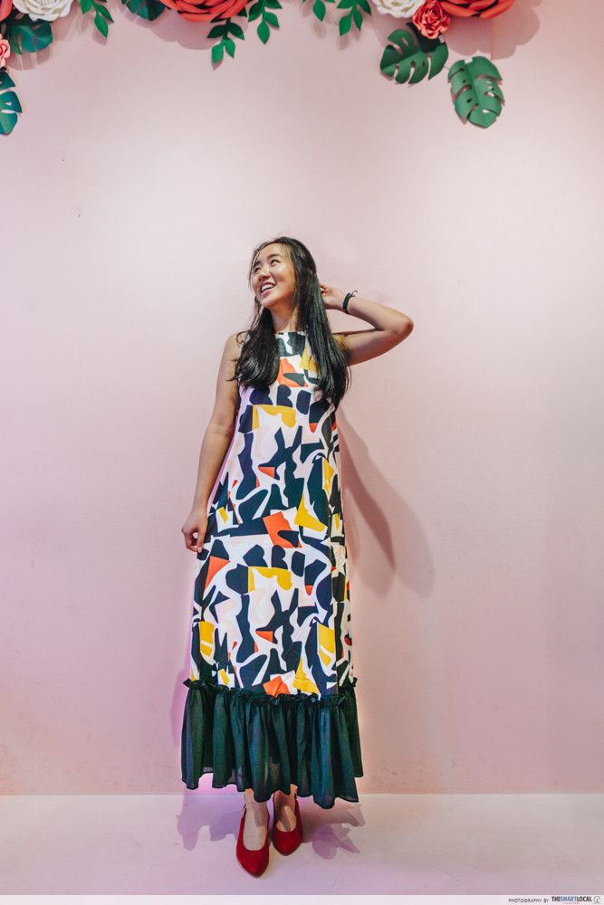 love bonito dress with patterns