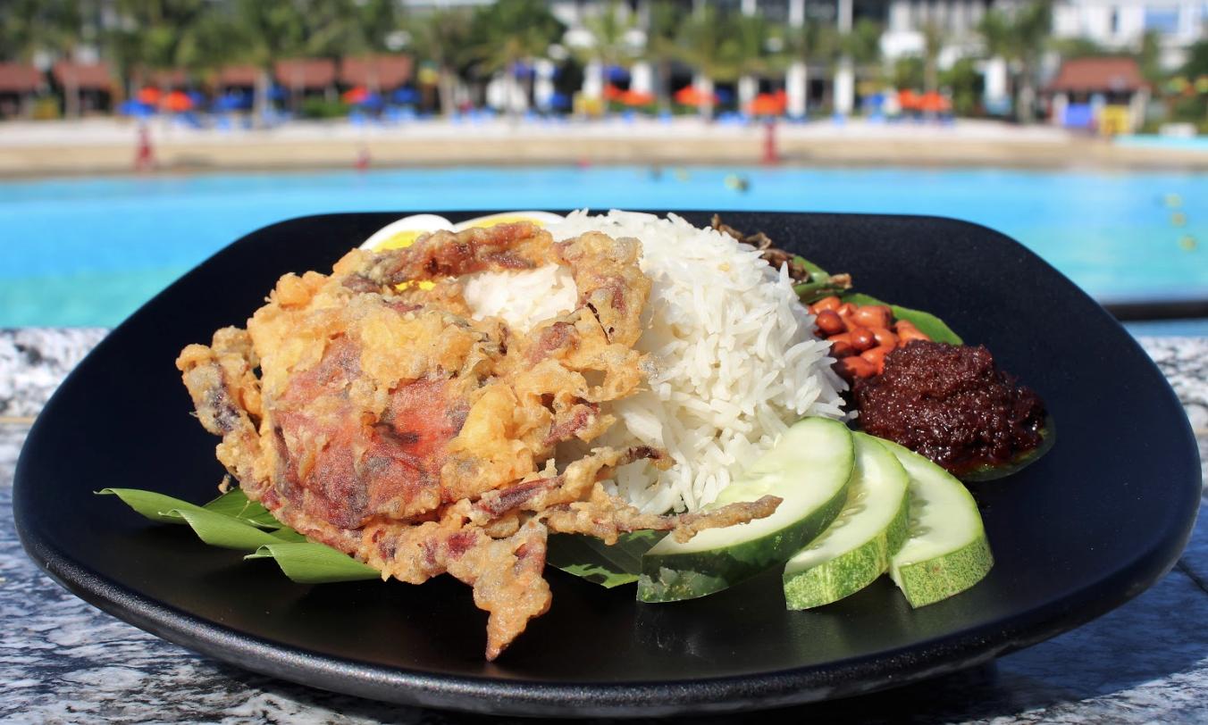 food in desaru coast adventure water park