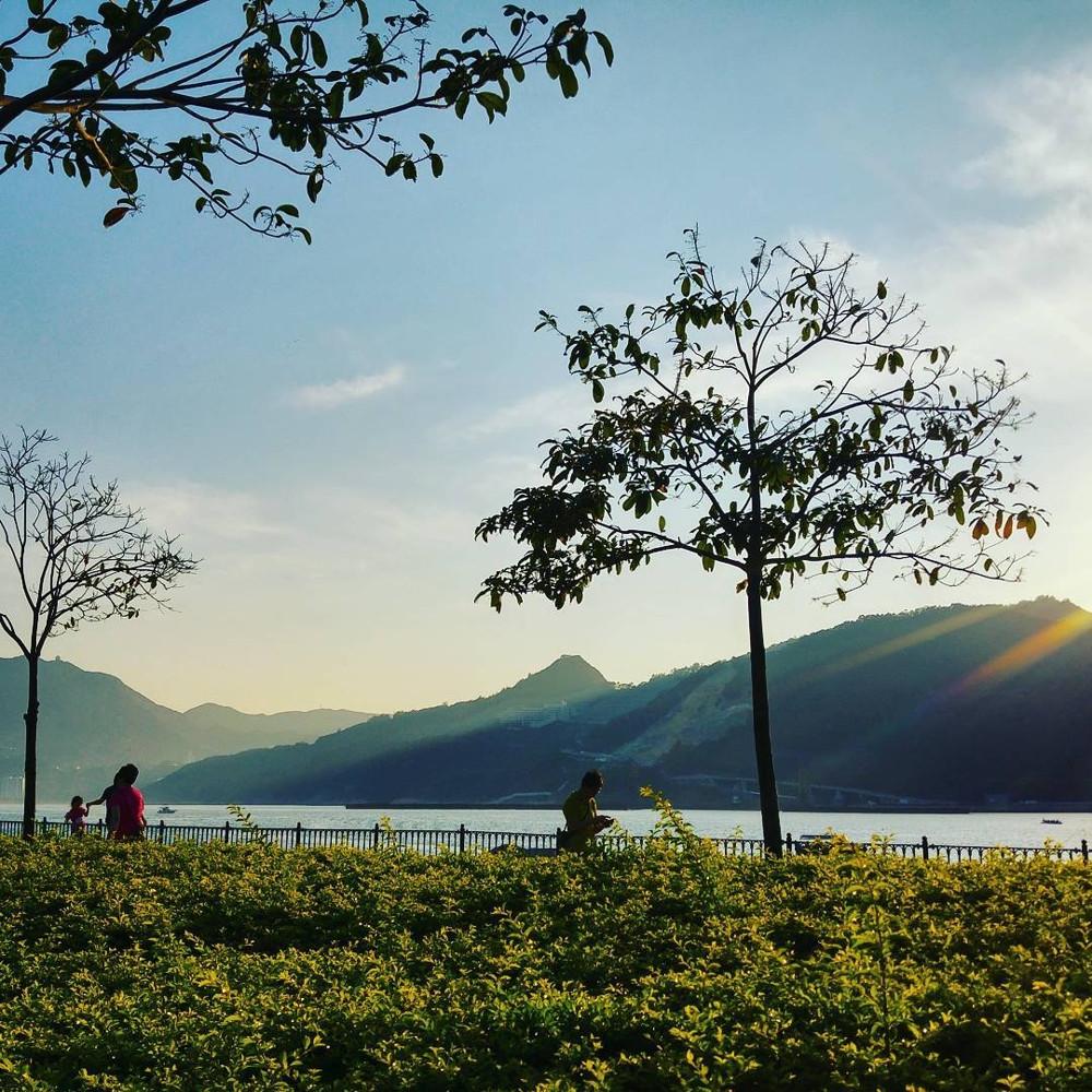 Hong Kong cycling trails - Tseung Kwan O Waterfront Park
