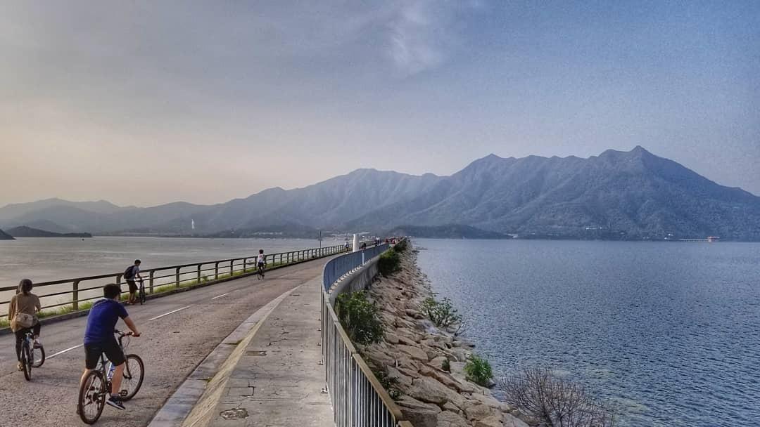 Hong Kong cycling trails - Sha Tin to Tai Mei Tuk