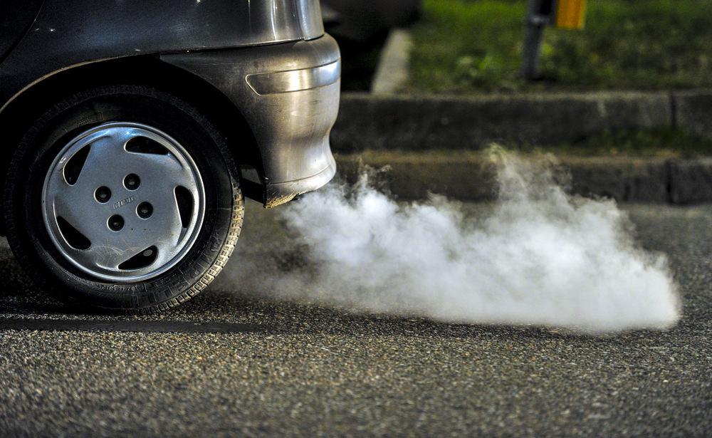 Benzene found in car exhaust