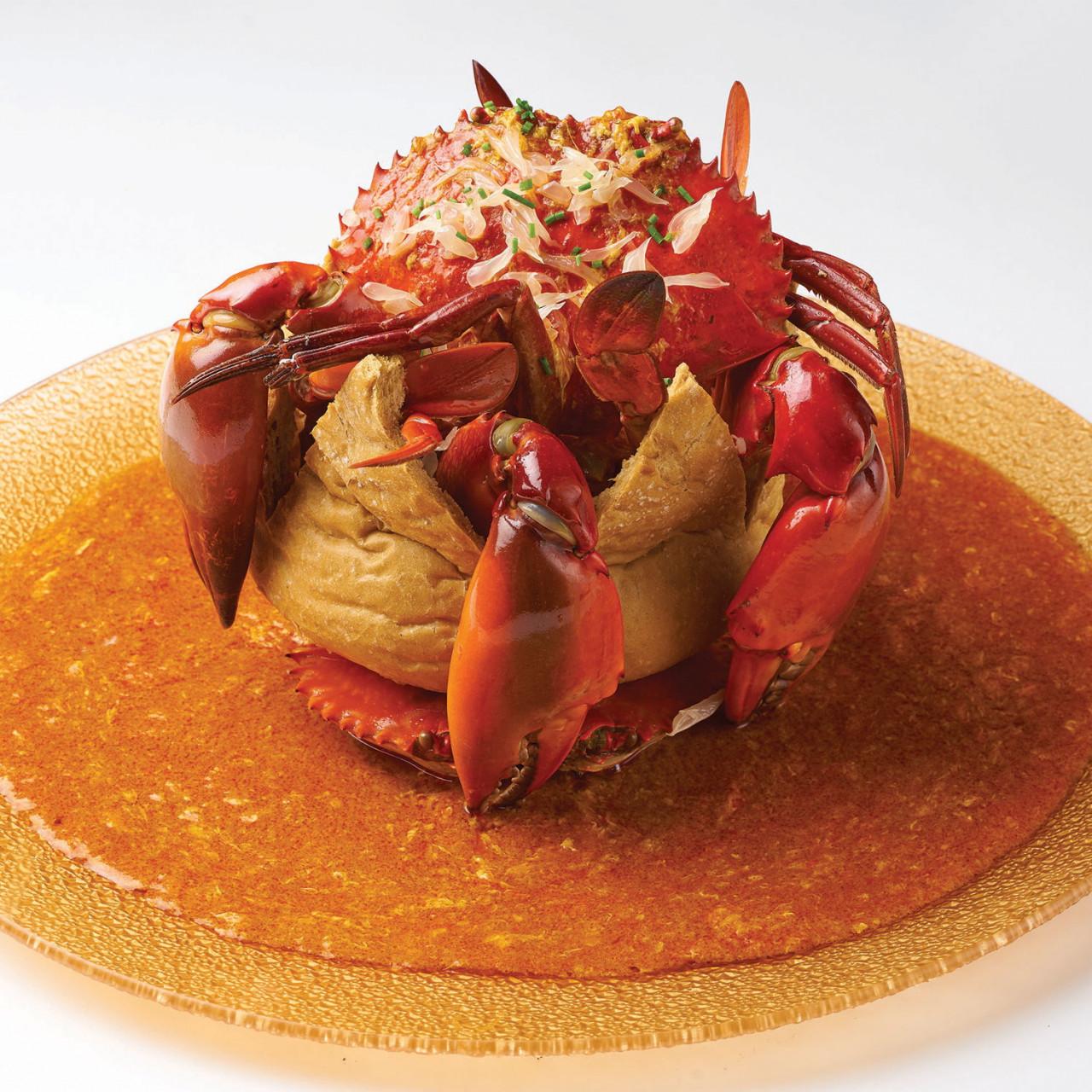 chope crab food cny reunion dinner