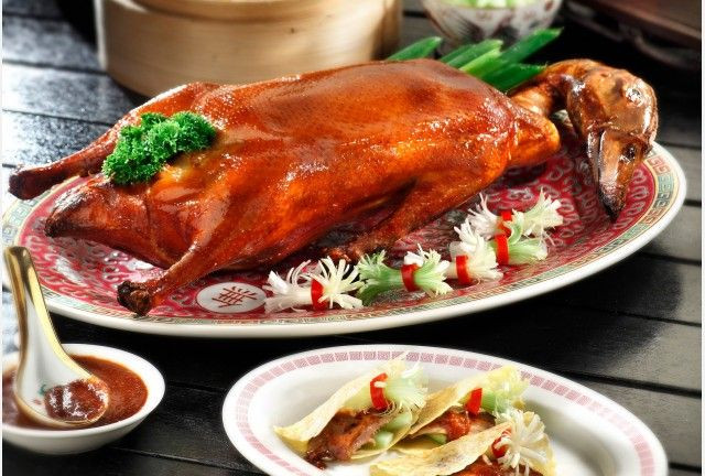 roasted duck cny reunion dinner spring court