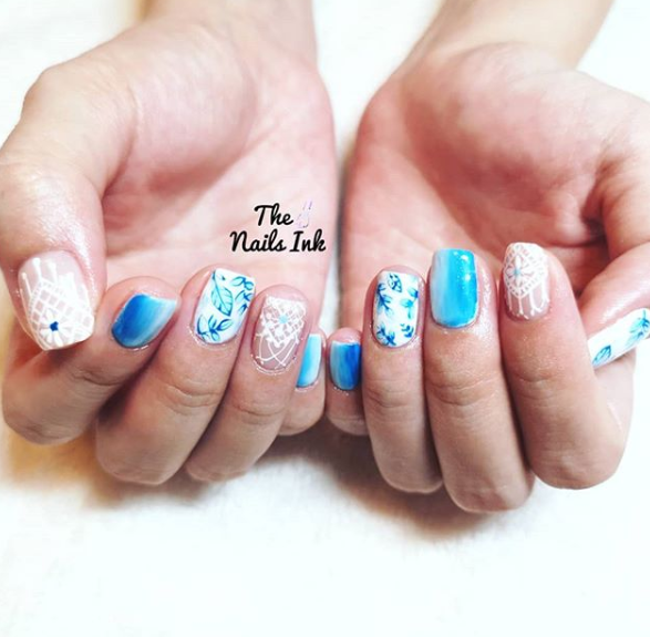 nails ink home baed salon singapore
