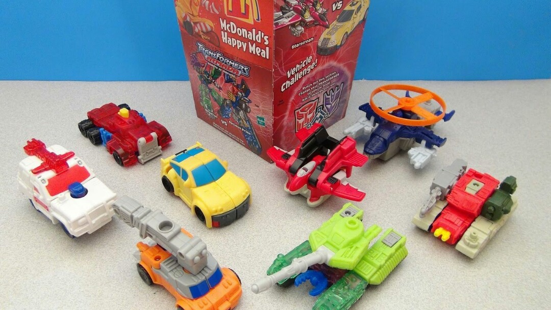happy meal toy singapore transformers armada