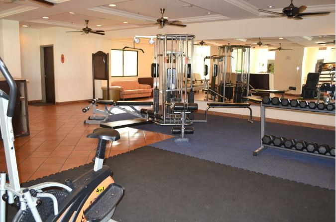 corus paradise port dickson room gym