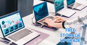 Nexstgo Trade in service and free storage upgrade