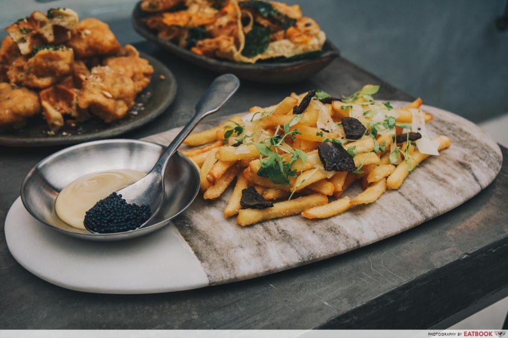 luxury fries