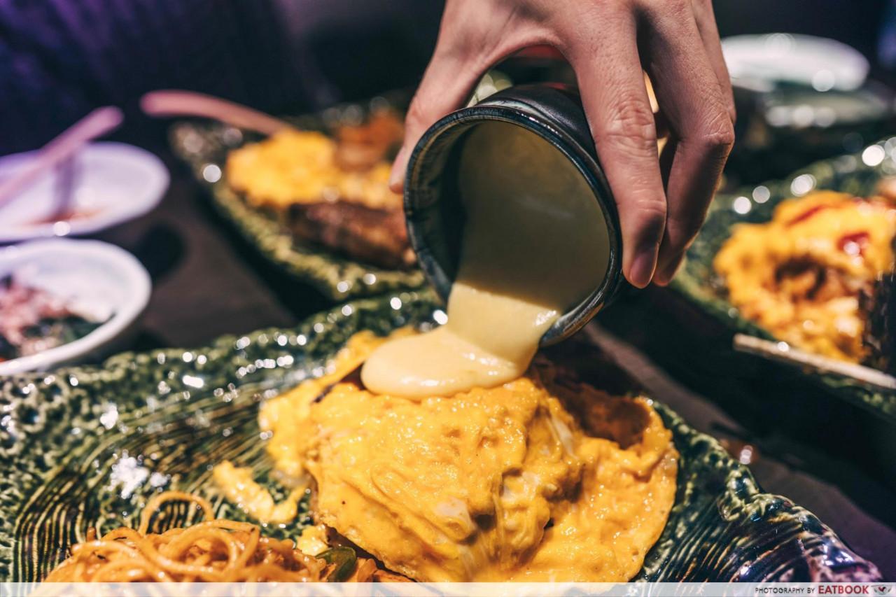cheese omurice singapore