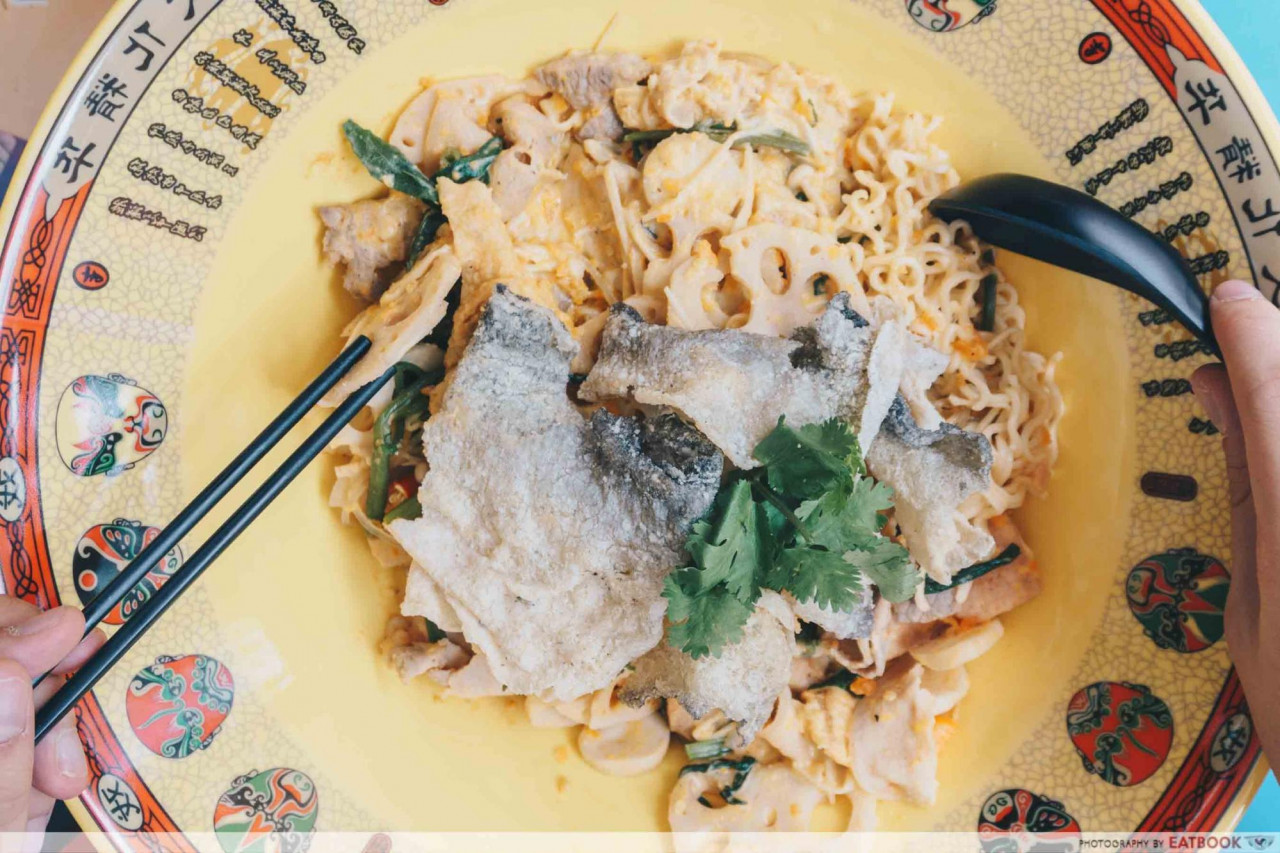 salted egg xiang guo