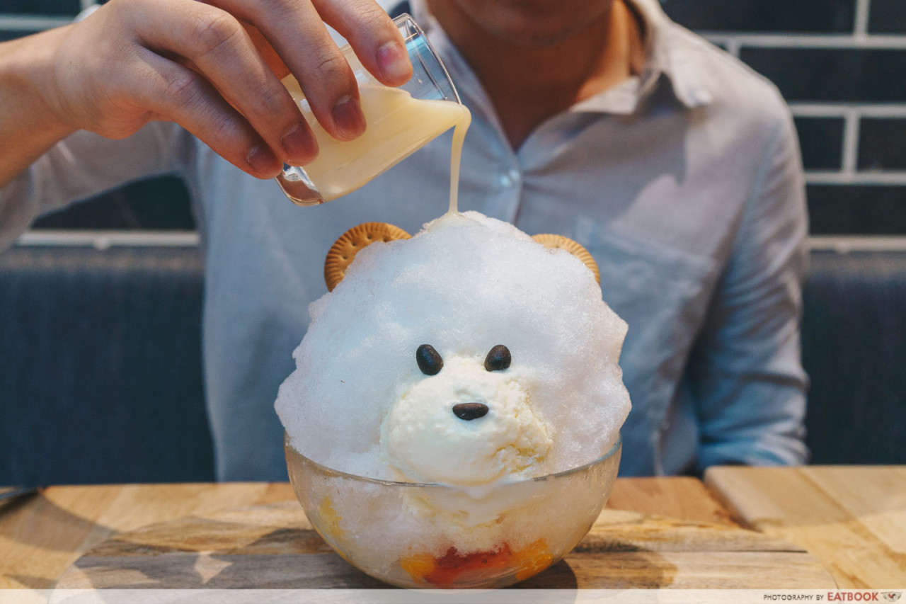cute shaved ice