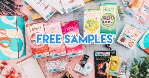 Free samples in Singapore