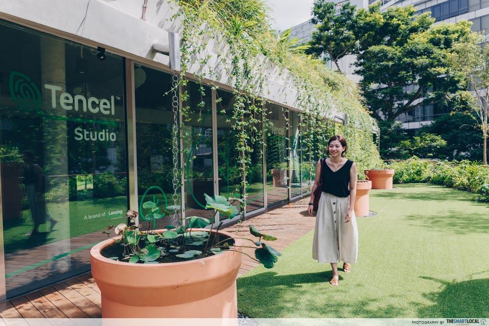 Design Orchard - rooftop garden - Tencel Studio