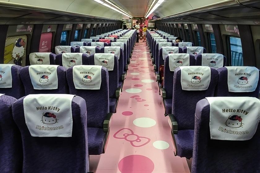 hello kitty shinkansen Sanyo shinkansen line Kodama service