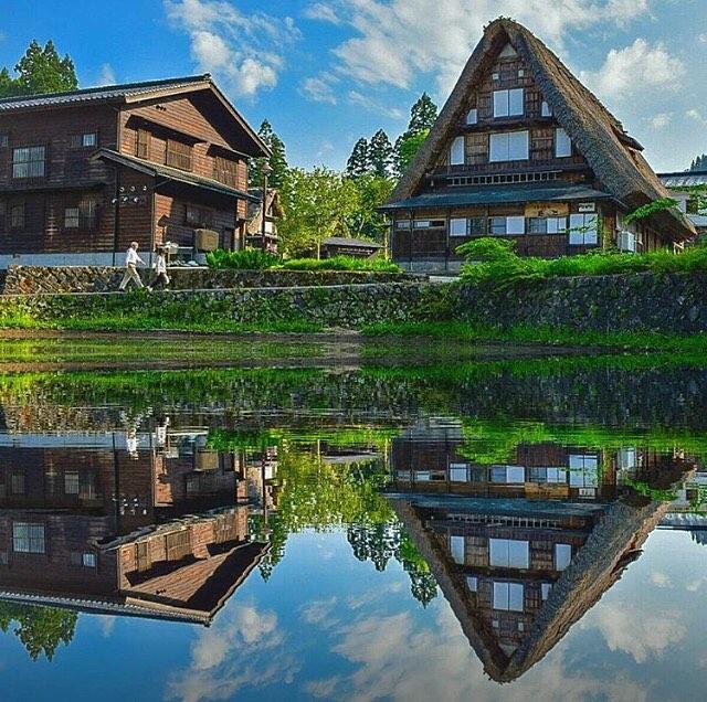shirikawa-go Farmhouse stay gasho-zukuri summer