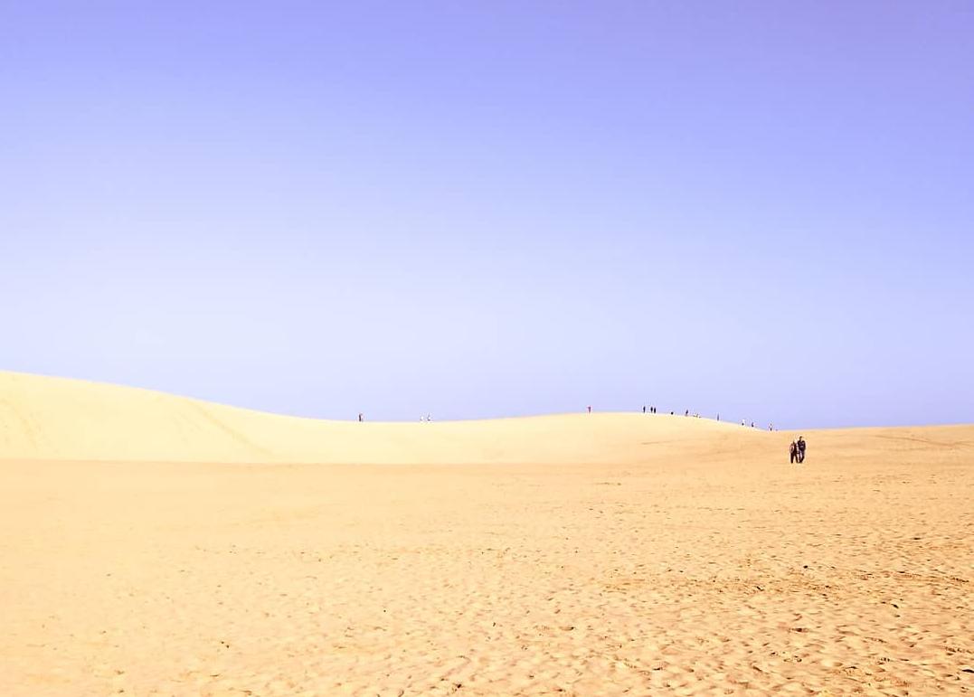 tottori sand dunes japan