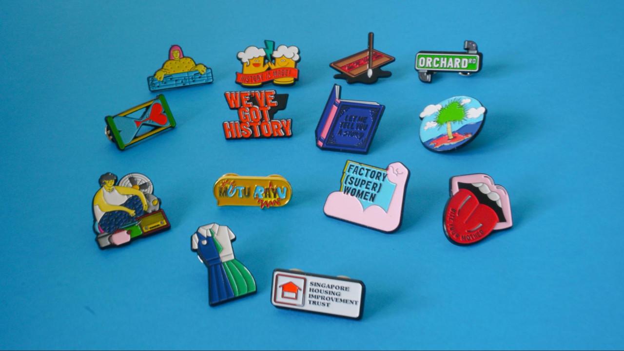 tfoop festival exclusive merchandise pins