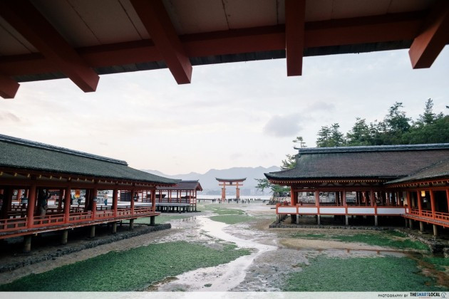 Miyajima is a sacred gateway according to Japanese culture