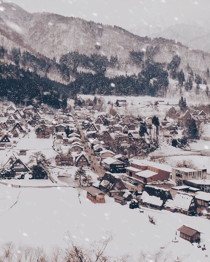 Shirakawa Village is a UNESCO World Heritage site with a 200-year-old history.