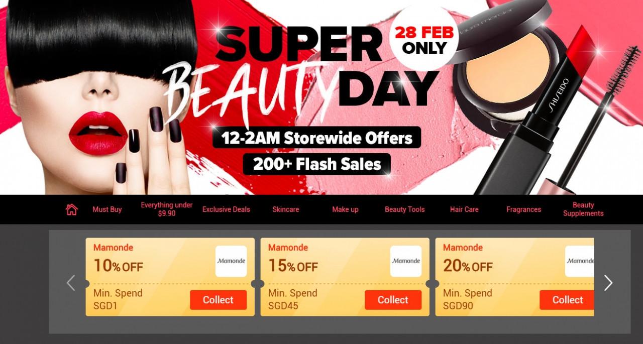 Lazada - Super Beauty Day