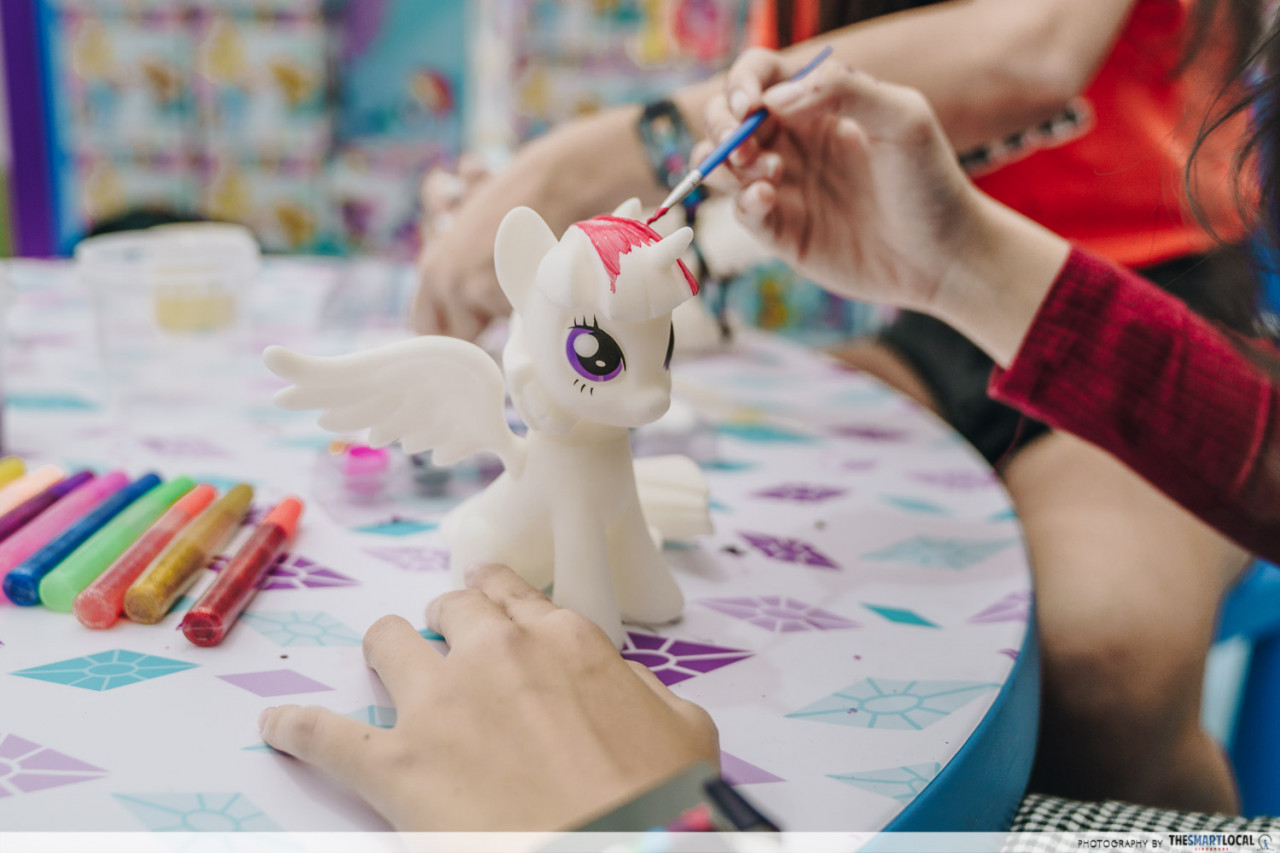 my little pony painting toybox sentosa hasbro creation studio