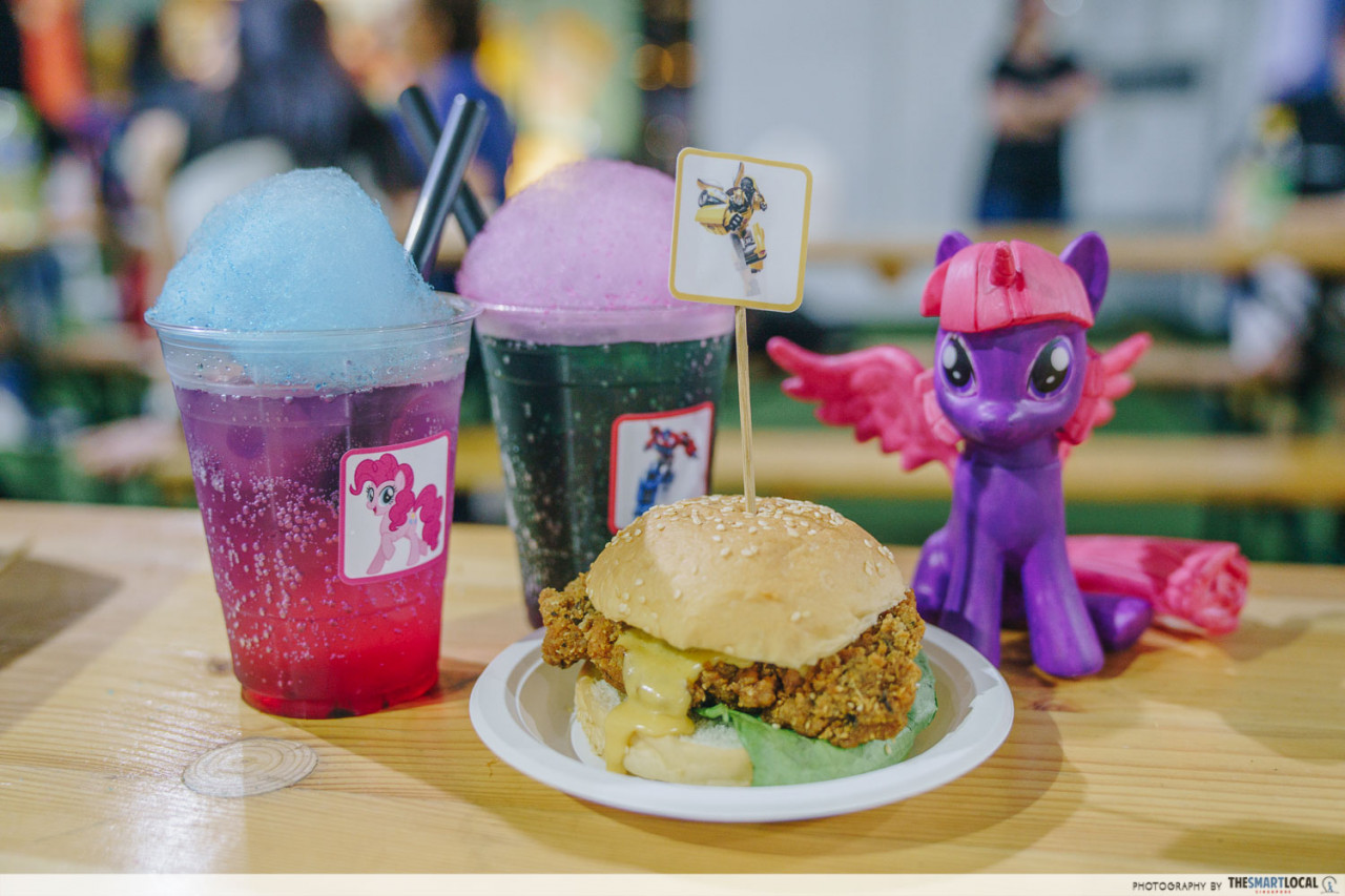 toybox by hasbro salted egg burger bumble bee my little pony sentosa