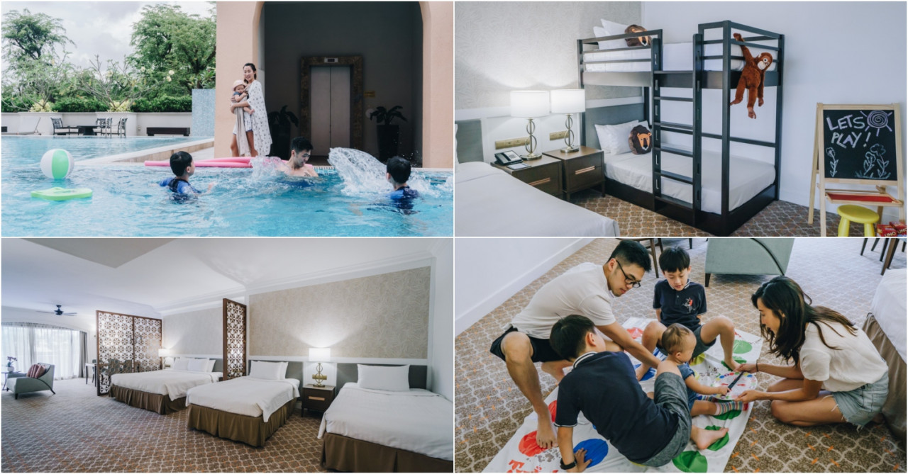 . Orchard Rendezvous Hotel Has New Spacious Family Rooms With Bunk