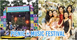 garden beats things to do in march picnic music festival