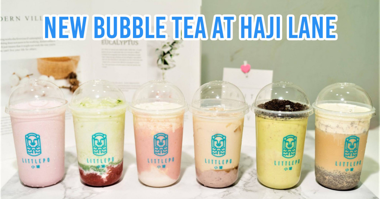 new bubble tea in haji lane