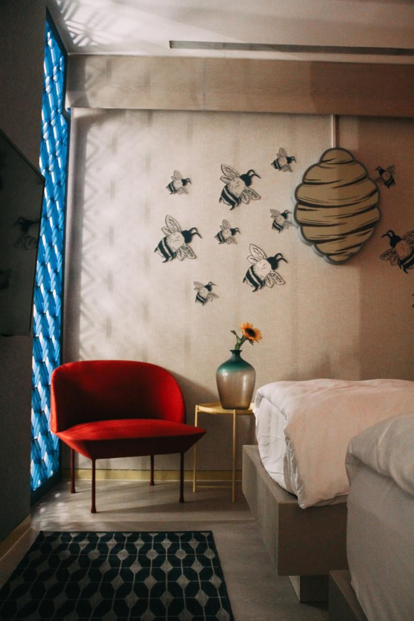 Singapore Design Week - pop-up hotel room