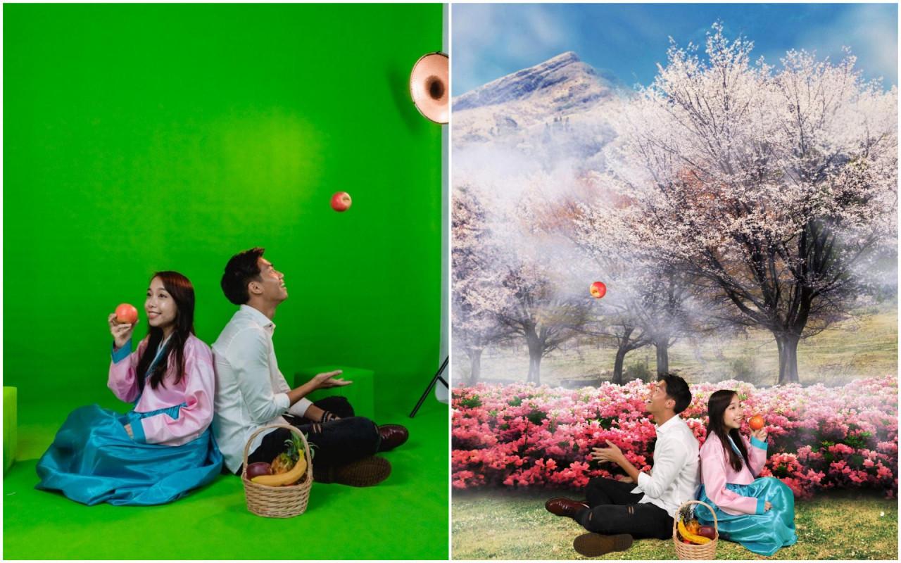 palfie pix selfie studio romantic photos photoshoot sakura