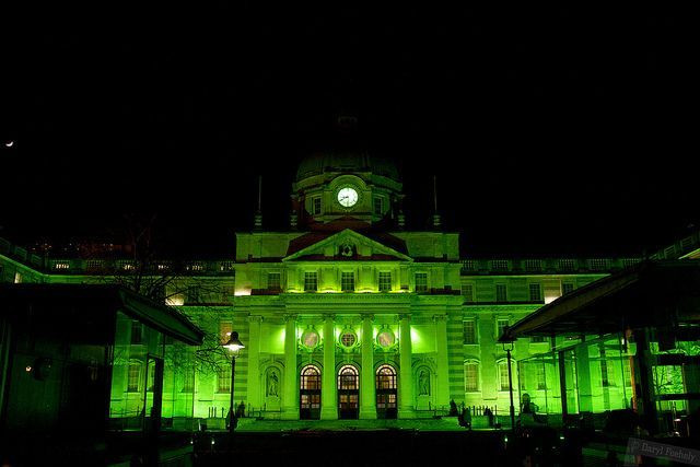 global green ireland government buildings