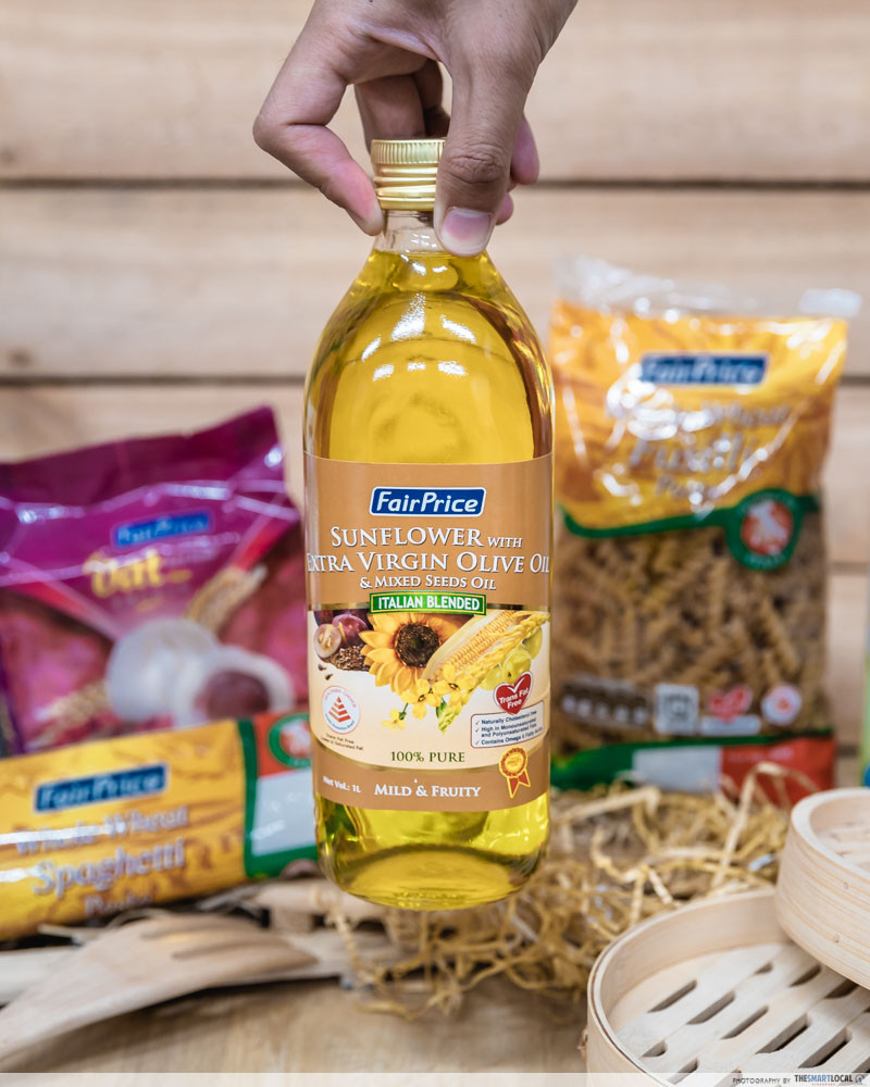 FairPrice Sunflower with Extra Virgin Olive & Mixed Seeds Oil