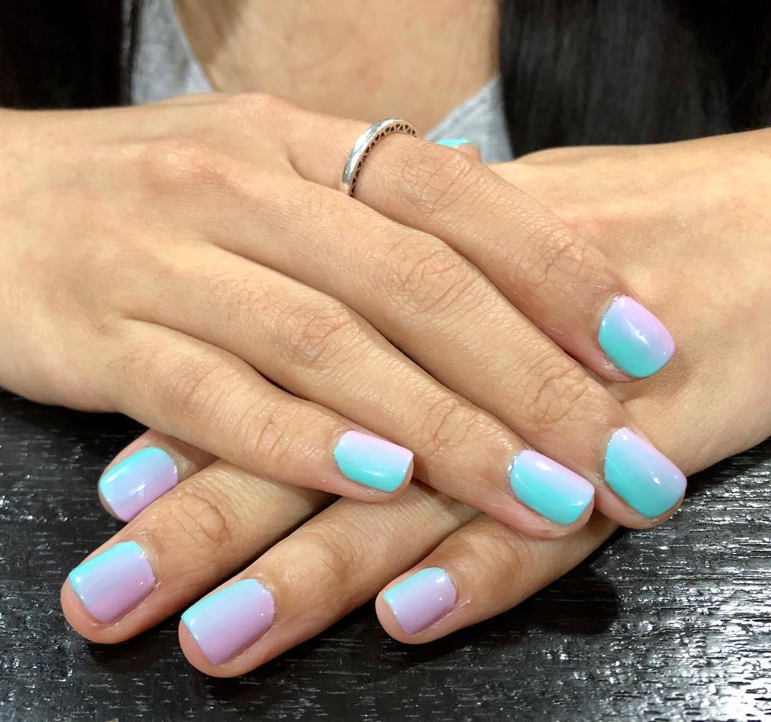 Gel manicures
