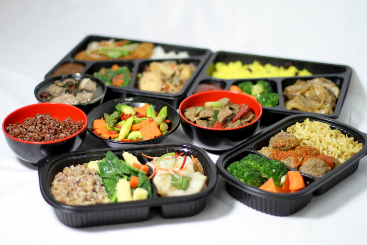 tingkat delivery service home daily food delivery singapore yeyeah delights halal healthy