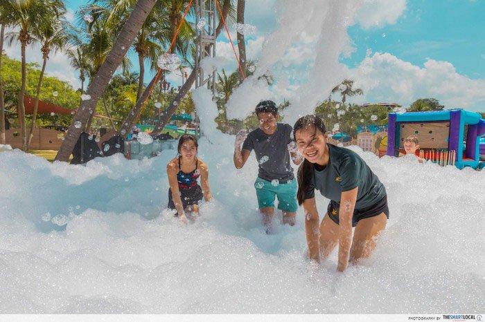 foam pool sentosa funfest 2019