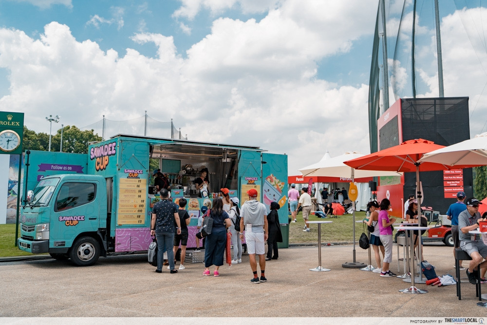 Songkran Music Festival - food truck