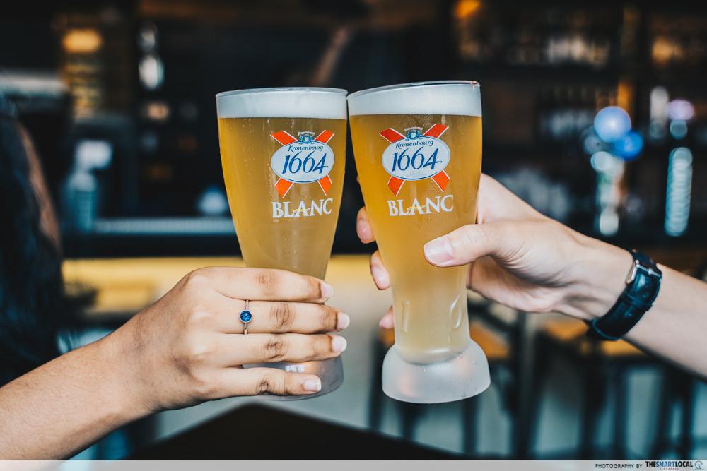 half-pint beer