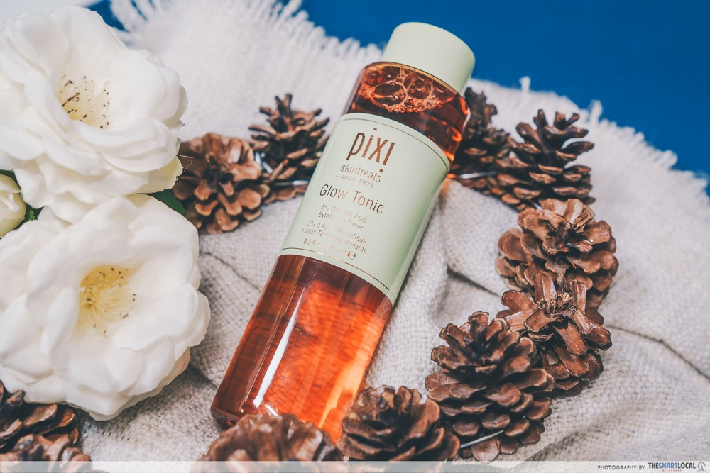 bottle of Pixi Glow Tonic