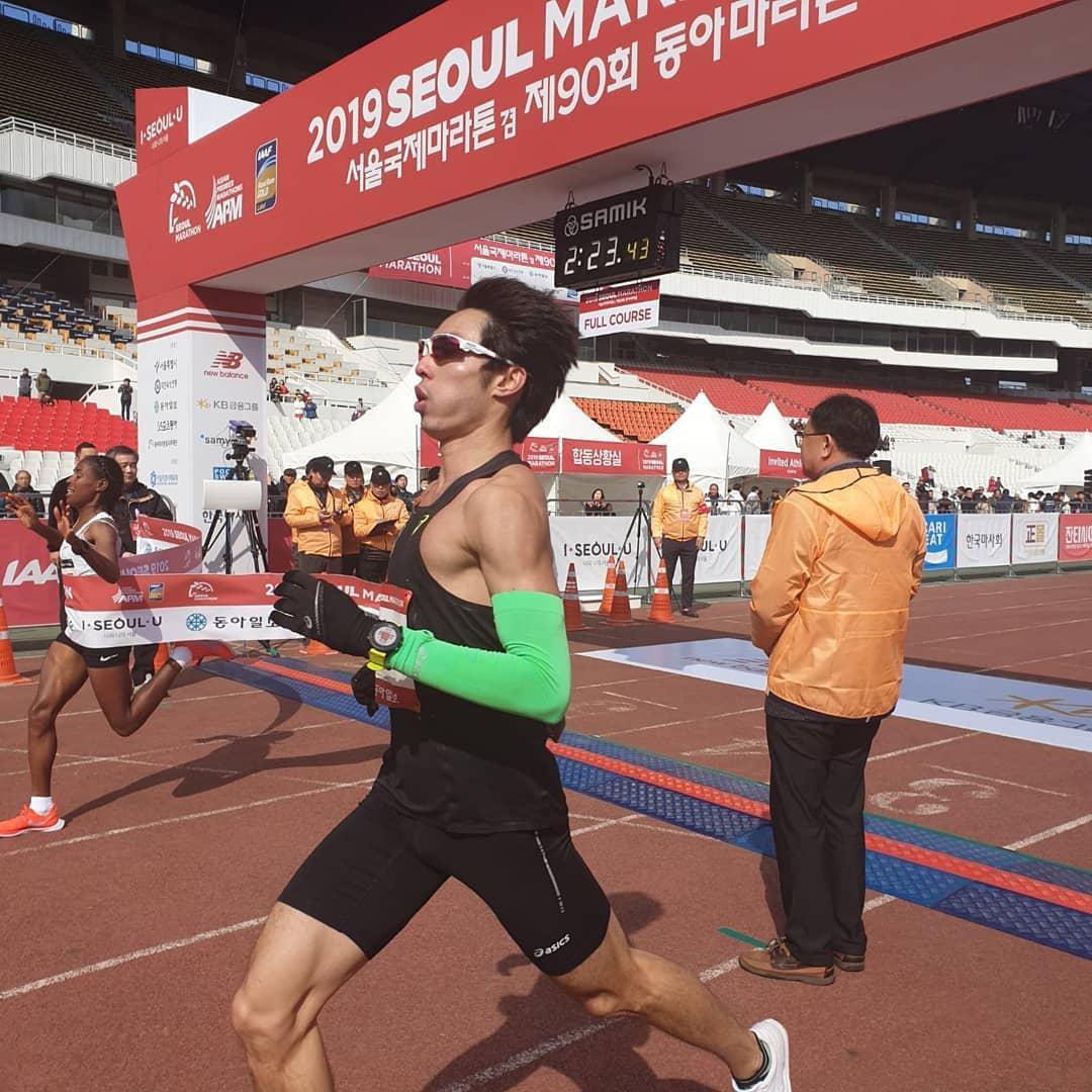 seoul marathon 2019 soh rui yong