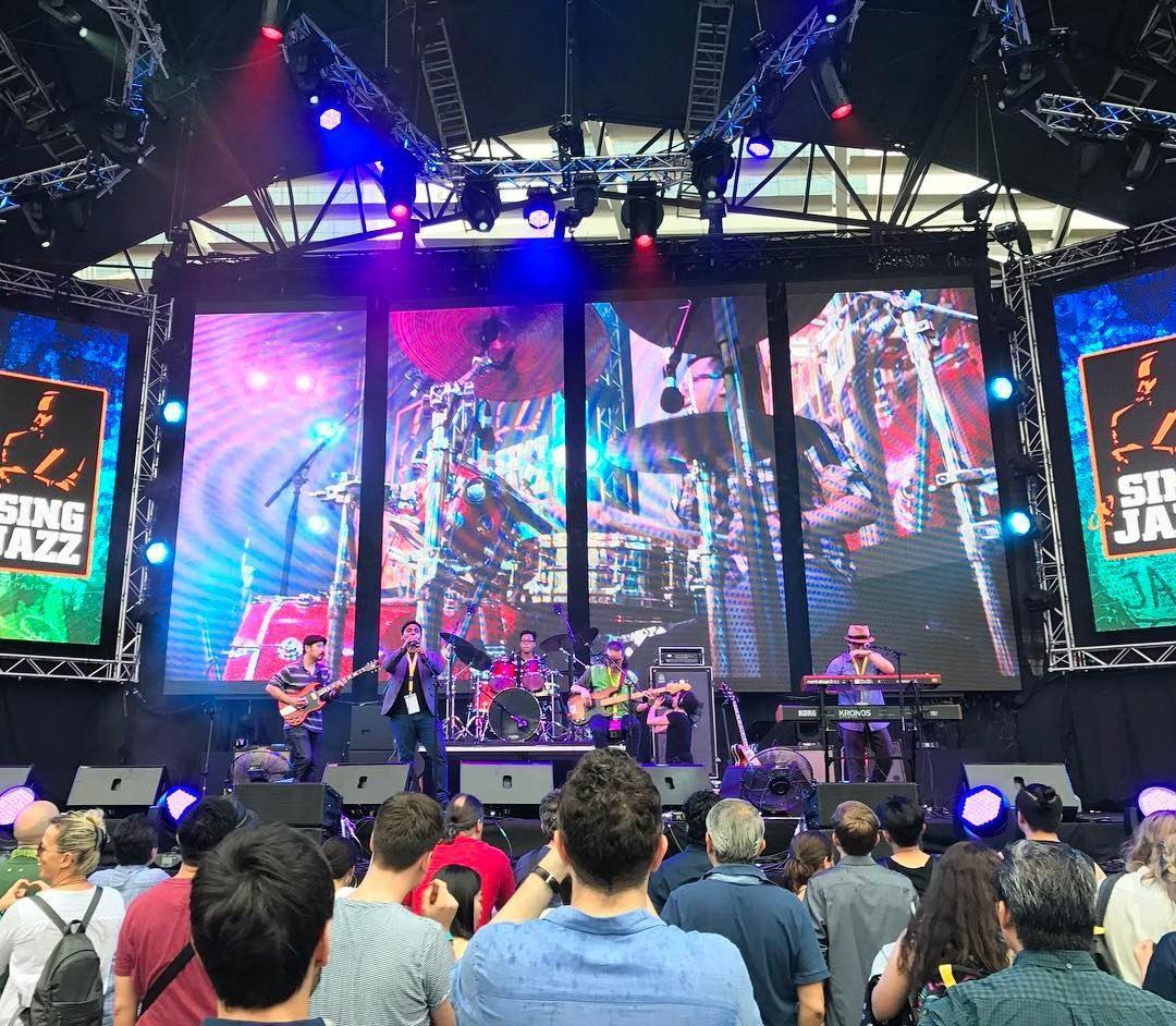 marina bay sands expo singapore international jazz festival