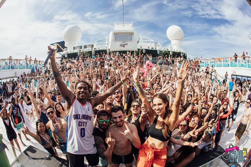 it's the ship music festival party