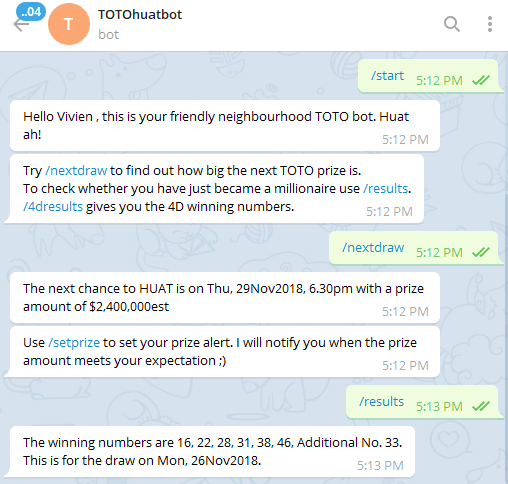 19 Useful Telegram Channels And Bots Every Singaporean Needs