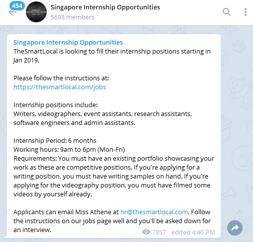 19 Useful Telegram Channels And Bots Every Singaporean Needs In