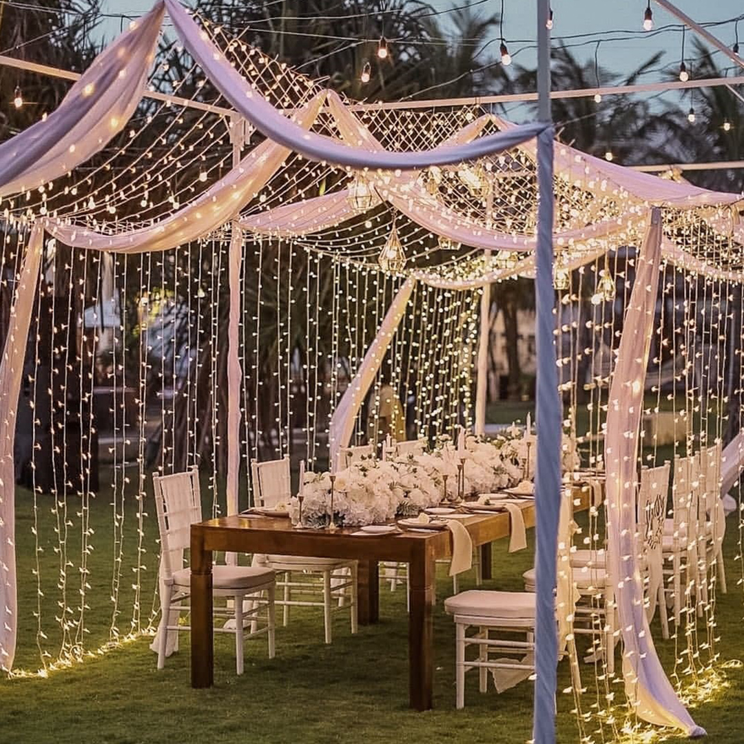 Sadara Resort intimate garden wedding reception
