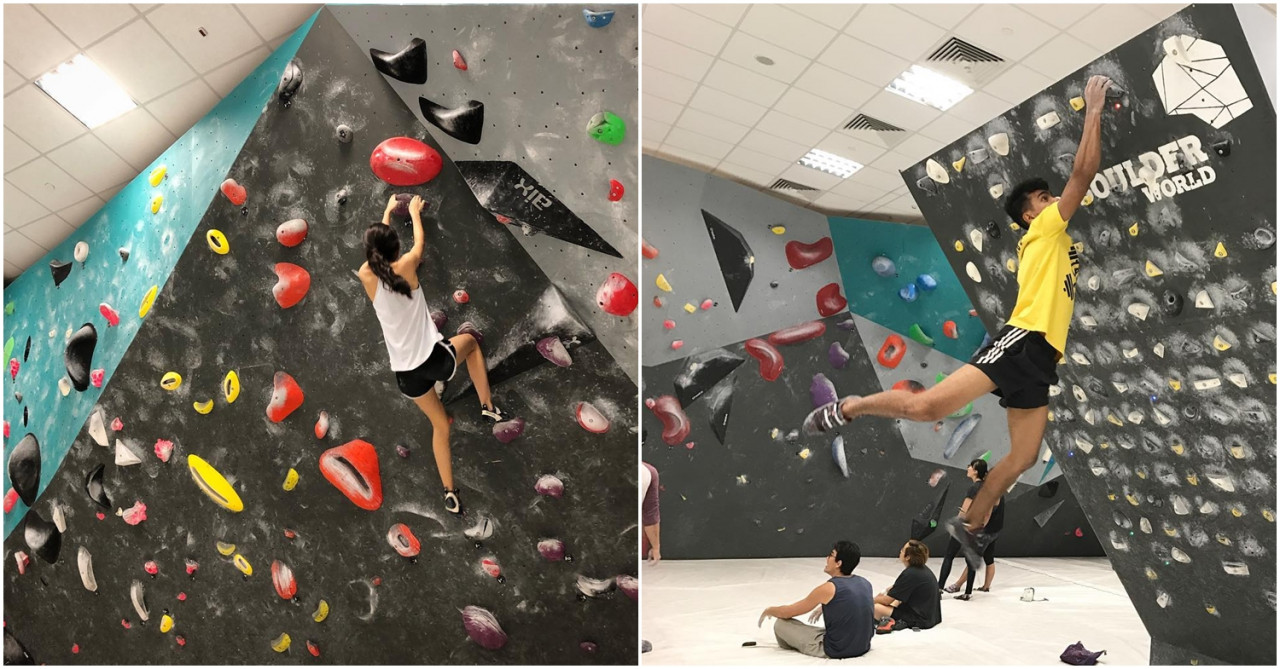 14 Rock Climbing & Bouldering Gyms In Singapore Suitable
