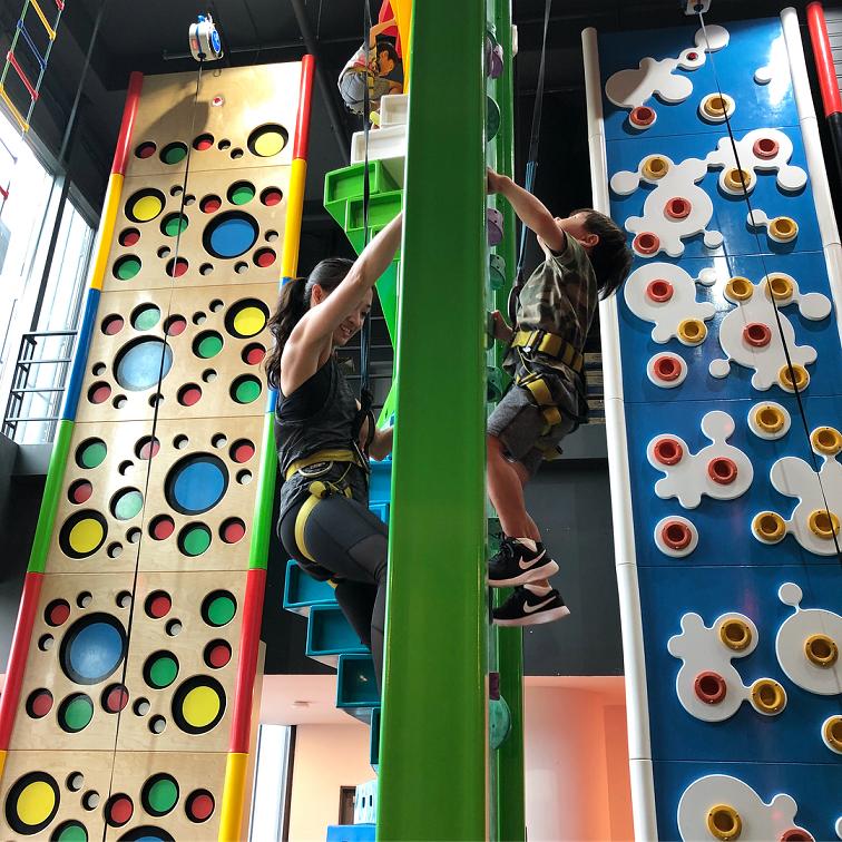 rock climbing bouldering gym singapore beginners pro clip n climb tampines hub cool walls