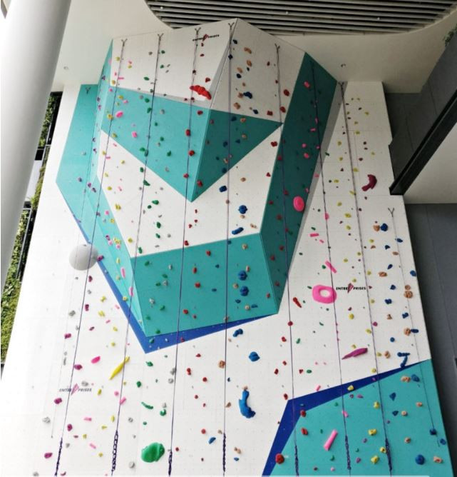 rock climbing bouldering gym singapore beginners pro the rock school kid friendly