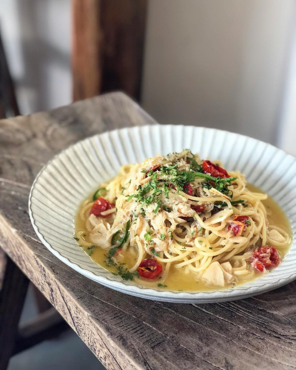 eleven strands new cafes and restaurants in april 2019 crabmeat pasta
