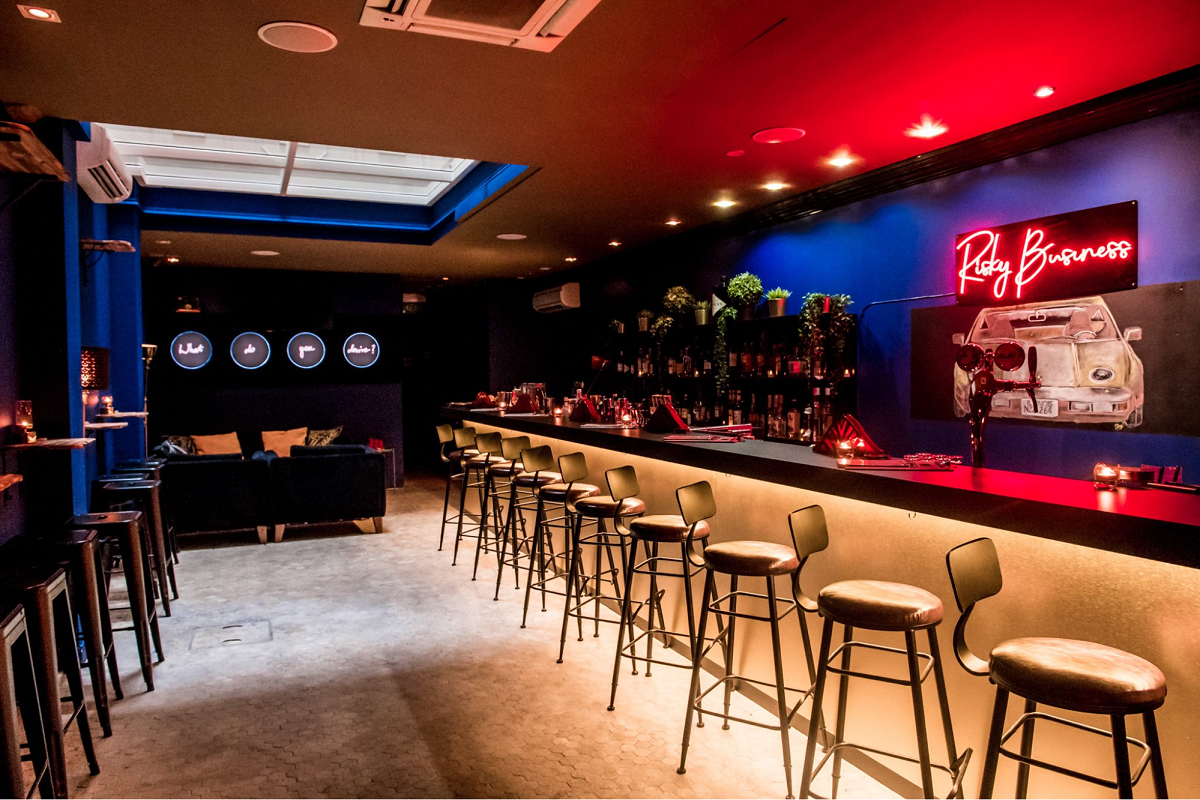 risky business new bar restaurant in singapore april 2019